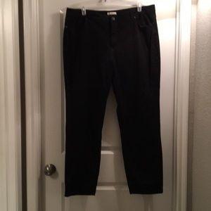 Nice Black straight leg pants